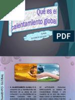 El Calentamiento Global PRACTICA 1 SIN VIDEO