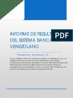 Informe Sistema Financiero Venezolano marzo 2019
