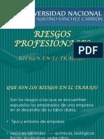 RIESGOS PROFESIONALES