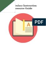 Vocabulary Instruction (1)