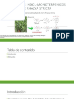 Monoterpene Indole Alkaloids From Rhazya Stricta