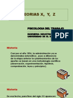 2.5 TEORIAS X, Y, Z. Presentacion