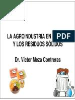 1 PRESENTACION Victor Meza AGROINDUSTRIA Y RESIDUOS SOLIDOS.pdf