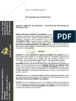 Derecho de Peticion - Carmen Villamizar
