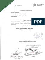 Notificación de Provincia a Suteba