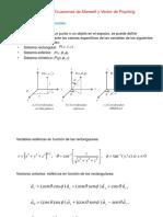 Antenas Módulo II Ecuaciones de Maxwell y Vector de Poynting