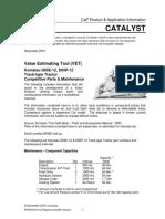 Competitive Parts Maintenance - Komatsu D65E-12 D65P-12