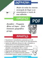 Infografia - Filosofia