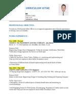 G Safety CV