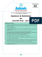 GUJCET-2017 Text Solutions