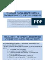 Tema 4 Principales Pactos, Declaraciones y Tratados Sobre Los