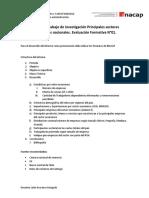 Contenido Trabajo de Investigación Principales Sectores Productivos Nacionales