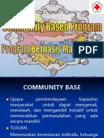 Community Base Program