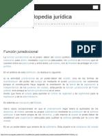 Función jurisdiccional