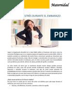 Efectos Del Estrés Durante El Embarazo