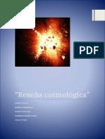 Reseña cosmológica