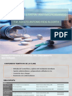08 Farmacoterapia III Antimicrobianos 2019
