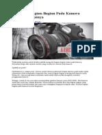 Mengenal Bagian-bagian Kamera Digital