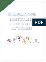 Secuencia 1- Planificacion Lengua y Cs Sociales 2018