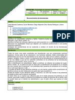 Informe 6 Reconocimiento de Biomoleculas