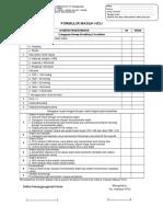 Formulir Keluar HCU Dan Masuk
