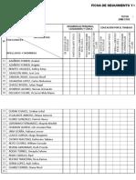 Ficha de Seguimiento y Conducta 1 - 2019
