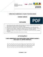 Ciencias humanas - Ensino medio - 2005 - 1.pdf