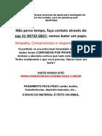 Portfolio Unopar/Anhanguera - Calce Leve. (31)997320837