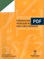 introduccion a la pedagogia vocal para coros infantiles.pdf