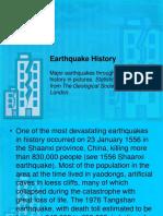 1 Earthquake History