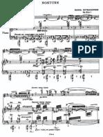 Szymanowski - Op  28 Nocturne and Tarrantella (violin and piano)