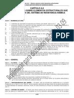 Capítulo a.8 Efectos Sísmicos Sobre Elementos Estructurales Que No Hacen Parte Del Sistema de Resistencia Sísmica