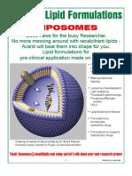 Avanti Brochure 09 Liposomes