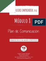 Cartilla Modulo 8_2018_plan de Comunicacion