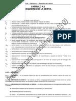 Capítulo a.6 Requisitos de La Deriva
