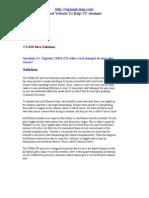 Cs610 Assignment Solution