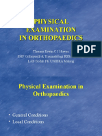 Physical Examination in Orthopedi Dr.thomas