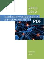 Instalación y Configuracion de Servidor  web HTT¨P