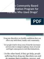 What is Community Based Rehabilitation Program for Persons
