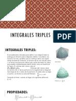 Integrales Triples