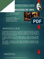 Tecnologia de Vinos Semi Acabado