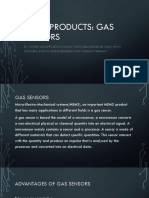 Mems Based Gas Sensor