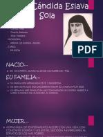 María Cándida Eslava Sola