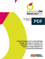 Implementacion de La Metodologia Design Thinking