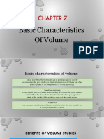 CHAPTER 7 - Basic Characteristic of Volume
