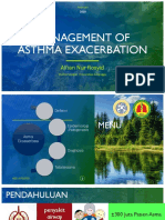 Management of Asthma Exacerbation