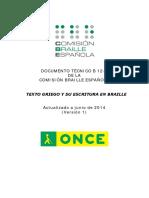 b12-1. Texto Griego y Su Escritura en Braille