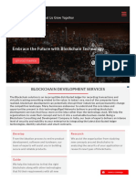 Blockchain Development Services
