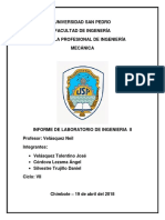 Informe No Destructivos