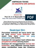 2.1. Penyusunan DD Dosen PTS LLDIKTI Wil.xi Kalsel- Nasaruddin Salam